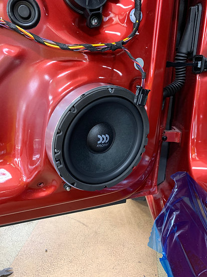 30mm Speaker Adaptor Rings for Woofers Focal Flax Evo PS 165 FXE