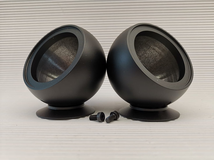 Tweeter Pods for Ground Zero with Elongated Hole