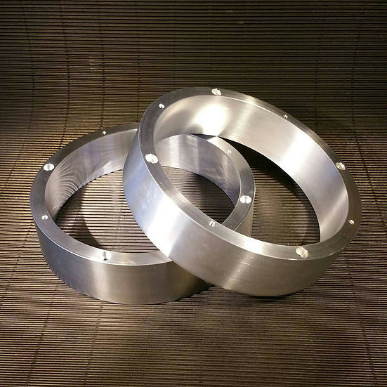 Silver Adapter Rings for Woofers