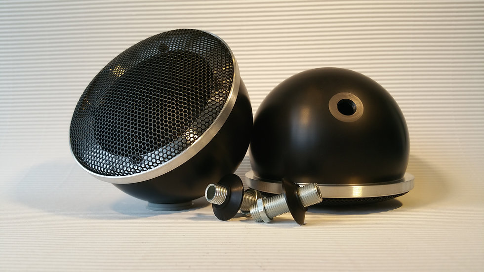 Black Midrange Pods for Focal with Grill (M10x1)