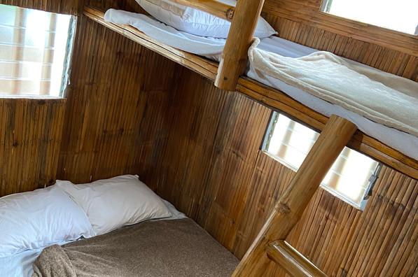 Double deck loft inspired room