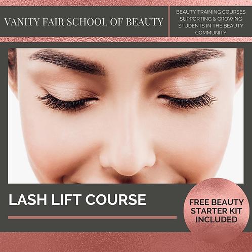 Lash Lift Course