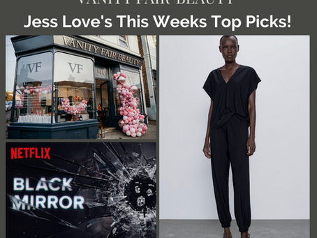 Jess Love's This Weeks Top Picks!