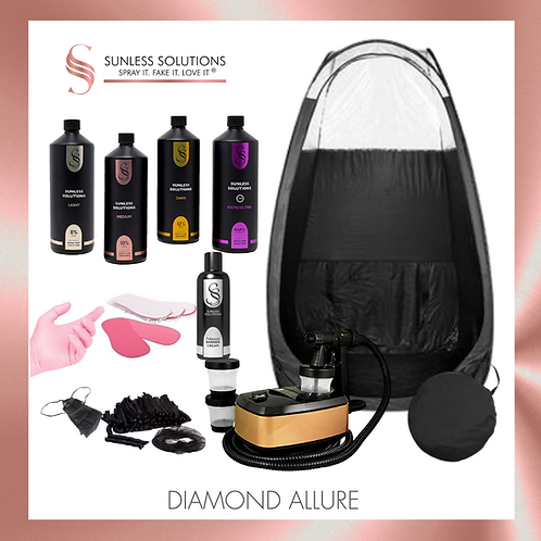 DIAMOND ALLURE Spray Tan Kit