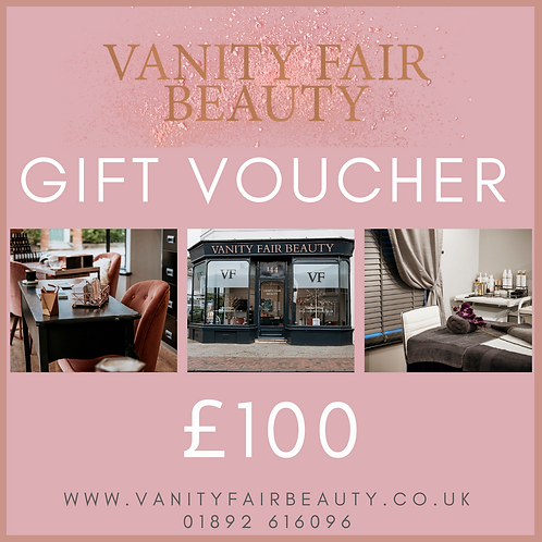 £100 Vanity Fair Beauty Voucher
