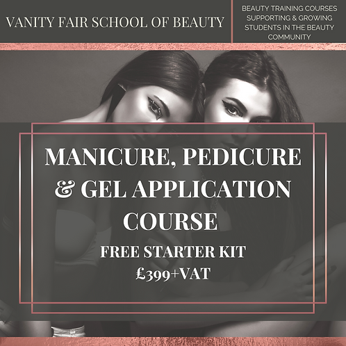 Manicure, Pedicure and Gel Nails Application Training Course