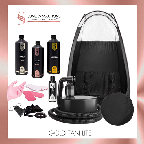 GOLD TAN.LITE Spray Tan Kit
