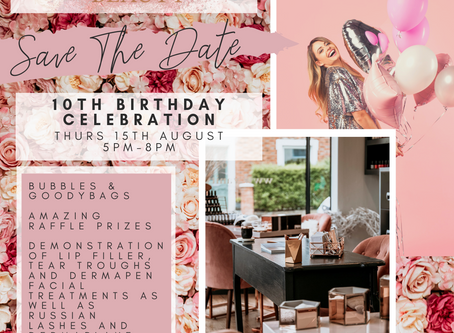 Join our 10th Birthday Celebrations!