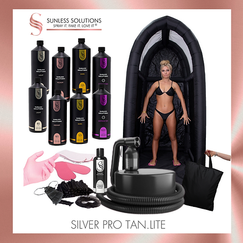 SILVER PRO TAN.LITE Spray Tan Kit