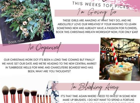 Jess Loves - This Week's Top Picks
