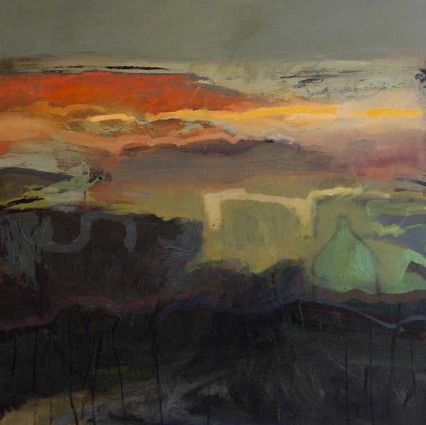 Elding. Oil on canvas.