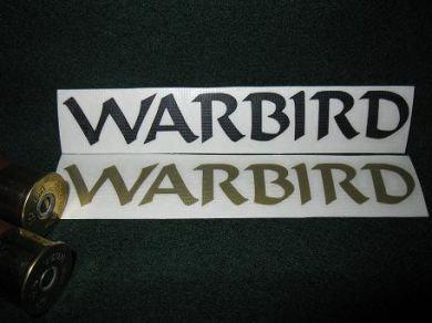 WARBIRD Barrel Decal