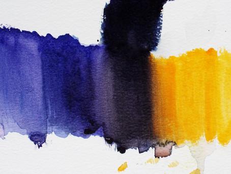 Colour Mixing: Part 2. making a colour darker.