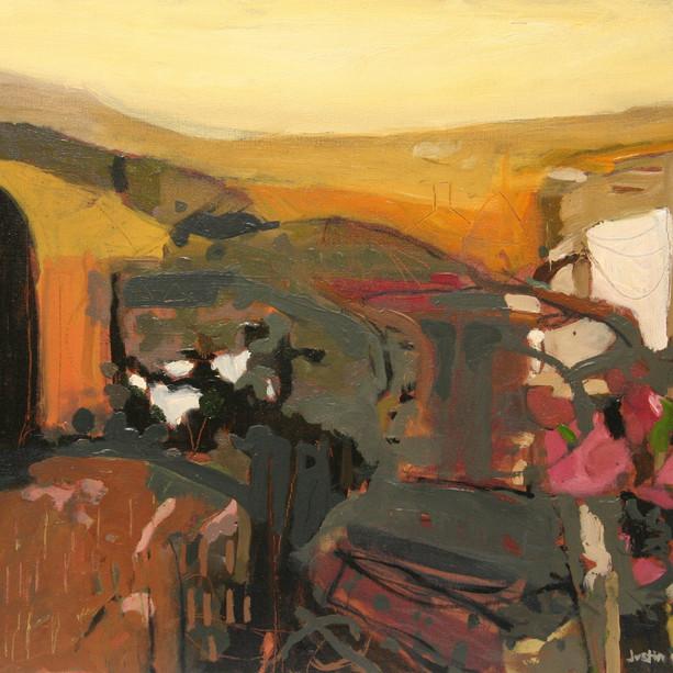 AncientFarmstead,Oil on Canvas.