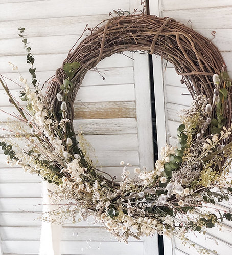 Spring Everlasting Wreath