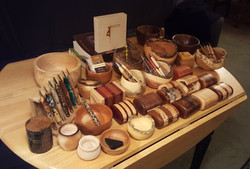 Various Bowls and Pens