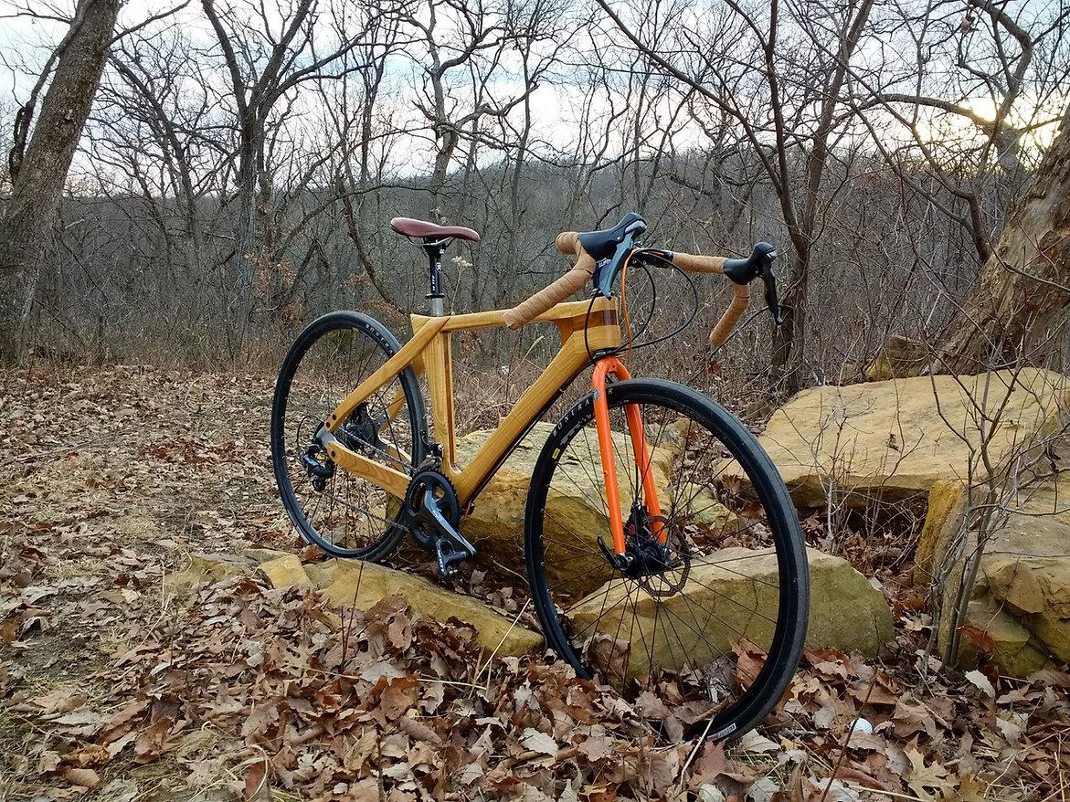 Wood Bicycle, Wooden Bike, Wood Bike, Custom Framebuilder