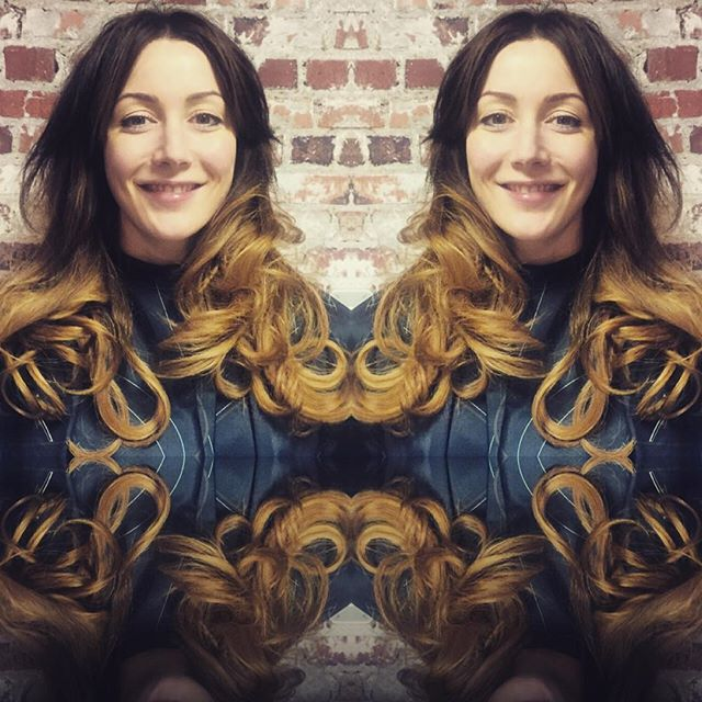 Hair envy anyone _ Stunning colour change and bouncy blowdry by  _clareob1 products used Young Again