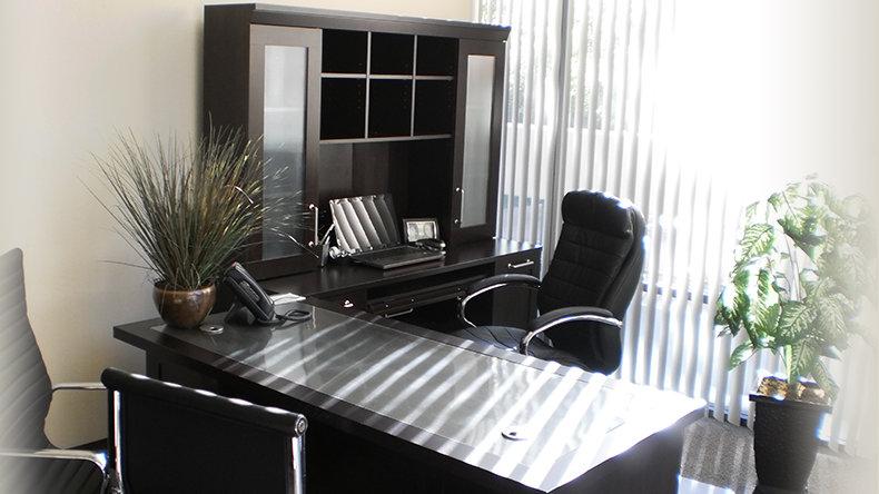 Large Corner Window Office #223