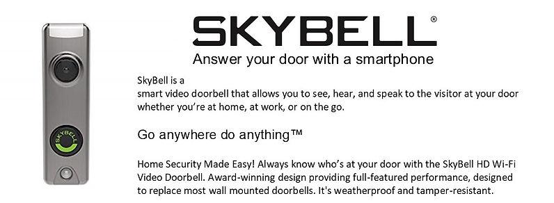 skybell SafetyZone Warner Robins Video Doorbell