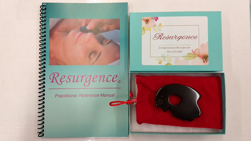 Gua Sha & Neck Rejuvenation Beauty Tool, Practitioners Reference Manual