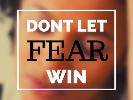 Is Fear holding you back ?