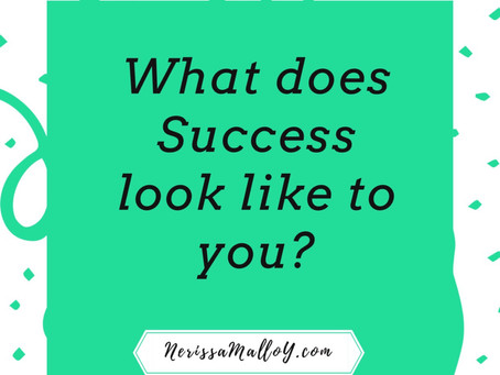 What does success look like to you?