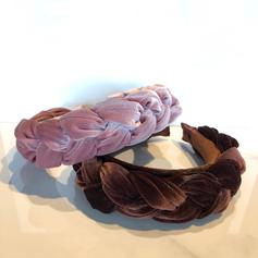 Velvet headbands