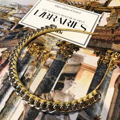 Headband in gold chain