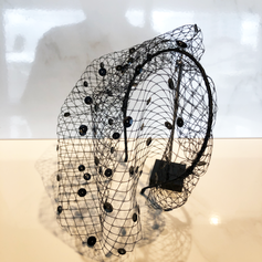 Fasinator headband in black