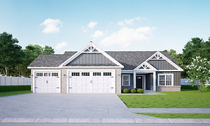Ranch Home for Sale by Jordan Homes in 3556 Bamboo Street, Lafayette, Indiana