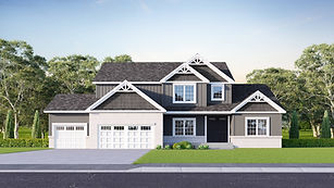 Home for sale by Jordan Homes, 490 Gainsboro Dr, West Lafayette, IN 47906