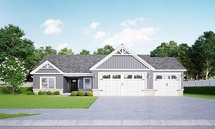 New build house by Jordan Custom Homes, LLC in Oak Ridge Subdivision, 5287 Daffodil Dr. West Lafayette, Indiana