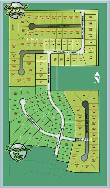 Raineybrook Subdivision Map 47909