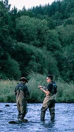 Guidage sur la Truyère, Cantal, proche de Chaudes-Aigues
