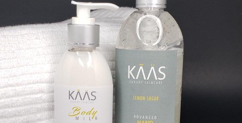 Lemon Sugar Hand Sanitizer & Lotion Combo