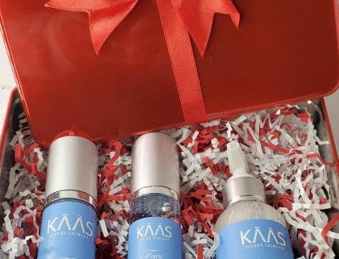 KAAS Face: 3 Step Skincare Creamy Coconut Vanilla Gift Box