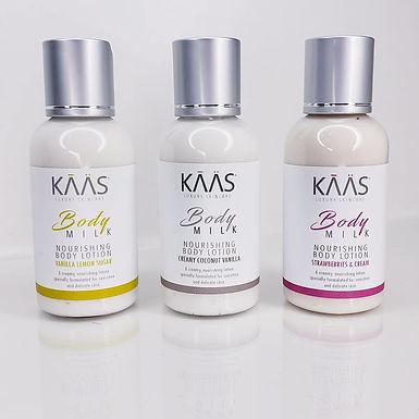 KAAS Traveler Trio Nourishing Body Lotion Collection