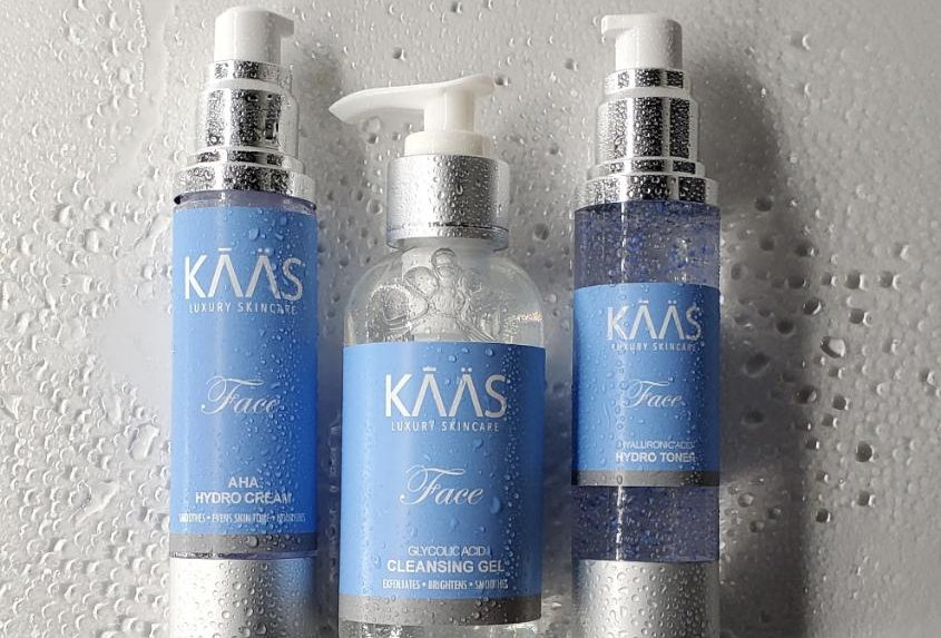 KAAS Face: 3 Step Skincare System Infused with Creamy Coconut Vanilla SCJ