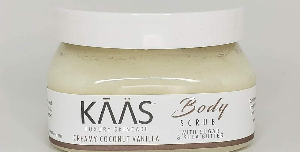 Creamy Coconut Vanilla Sugar & Shea Butter Body Scrub Wholesale