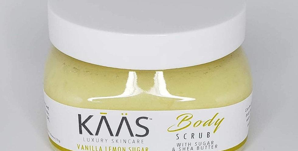Vanilla Lemon Sugar Body Scrub Wholesale