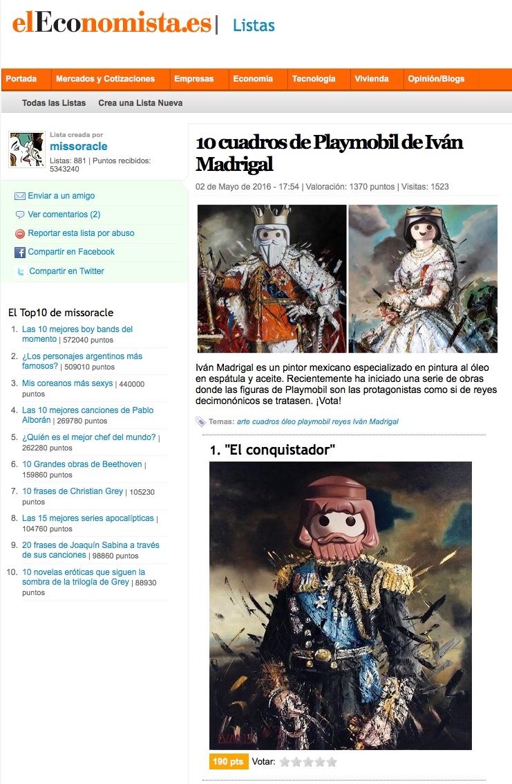 el economista españa