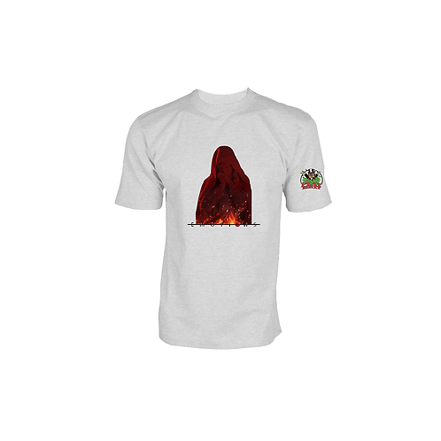 White ' Emotions Red Nun' Tee
