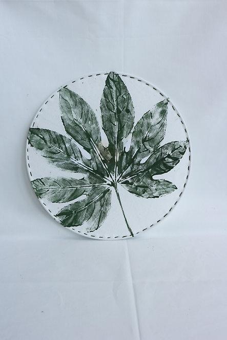 WALLHANGER groen blad