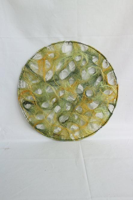 WALLHANGER lentegroen holes