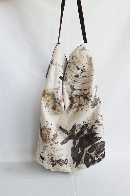 BAGS shopper ecoprint