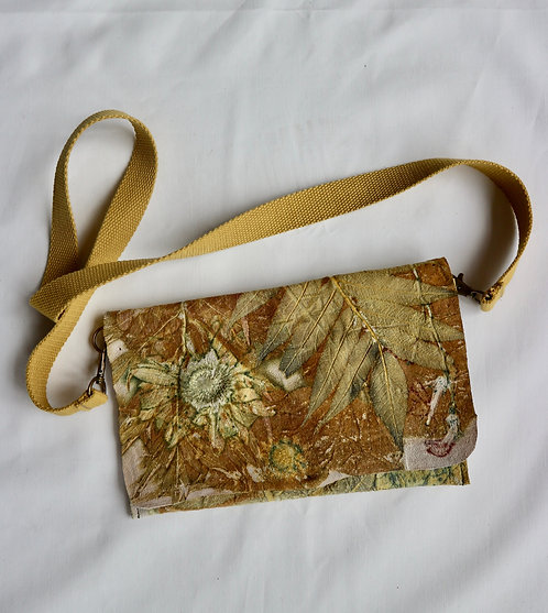 BAGS ecoprint leather