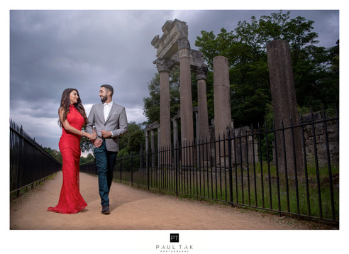 Pre shoot London couple shoot asian wedd