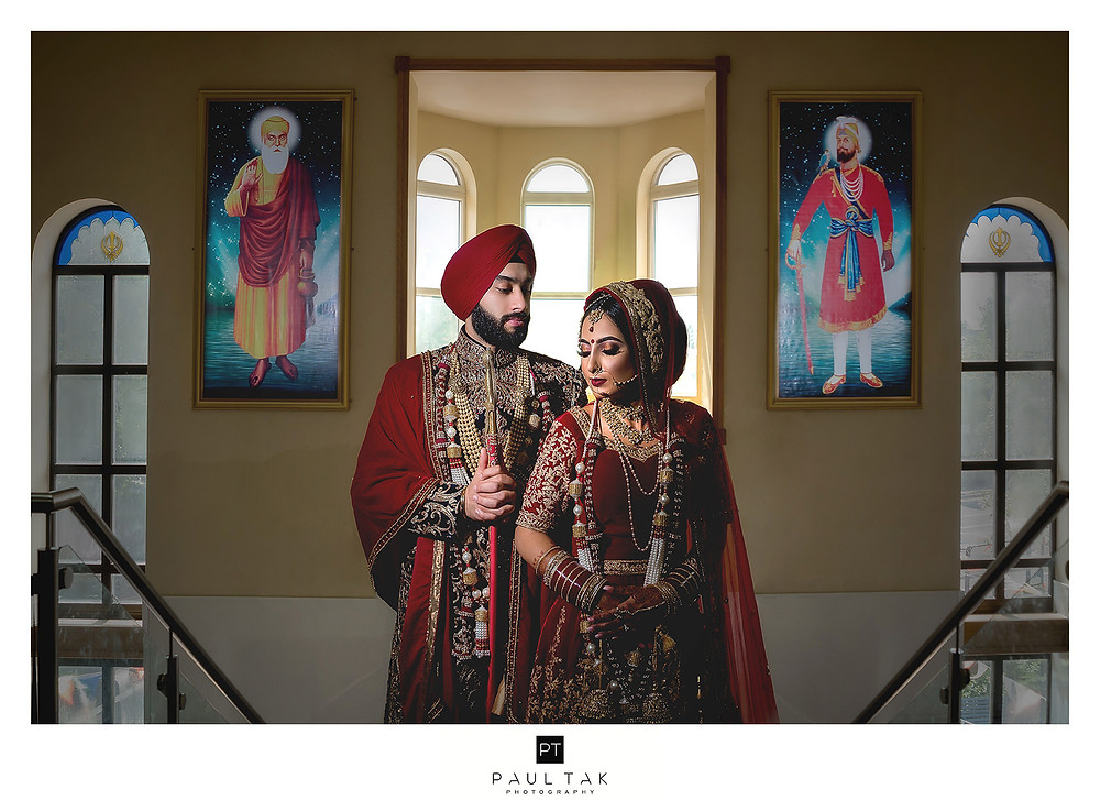Blessing from god sikh wedding photography