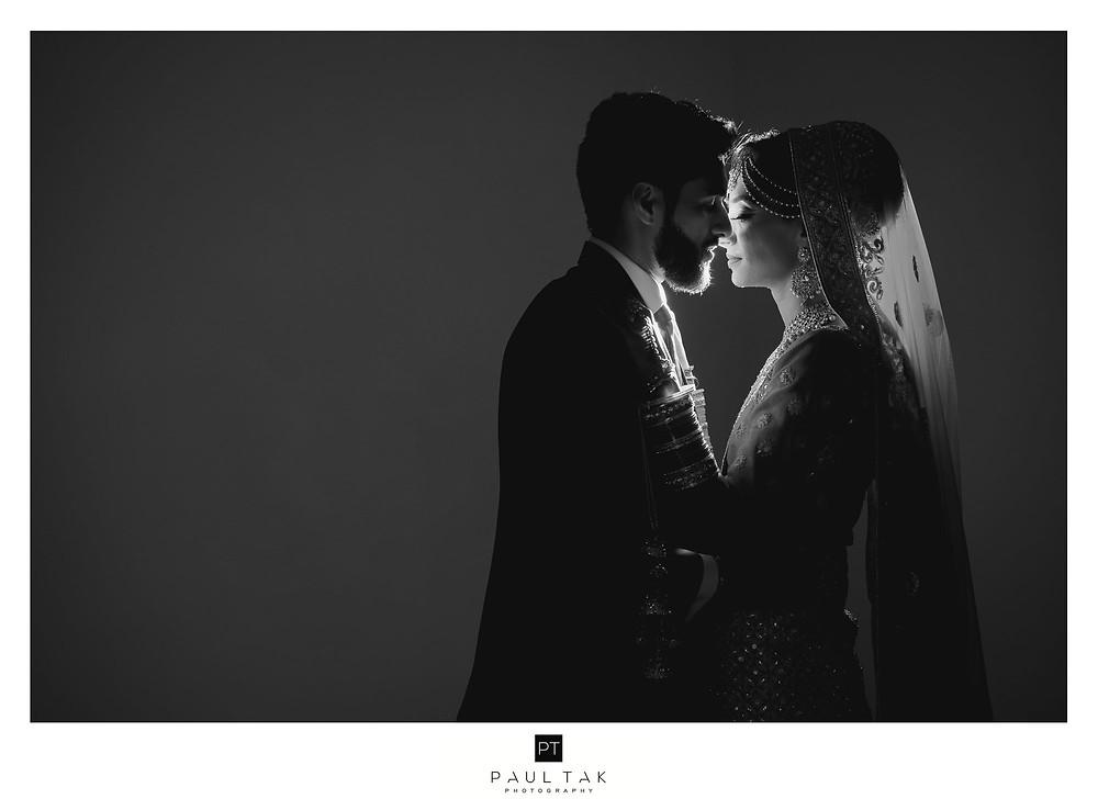 Loving couple asian wedding photography couple shoot